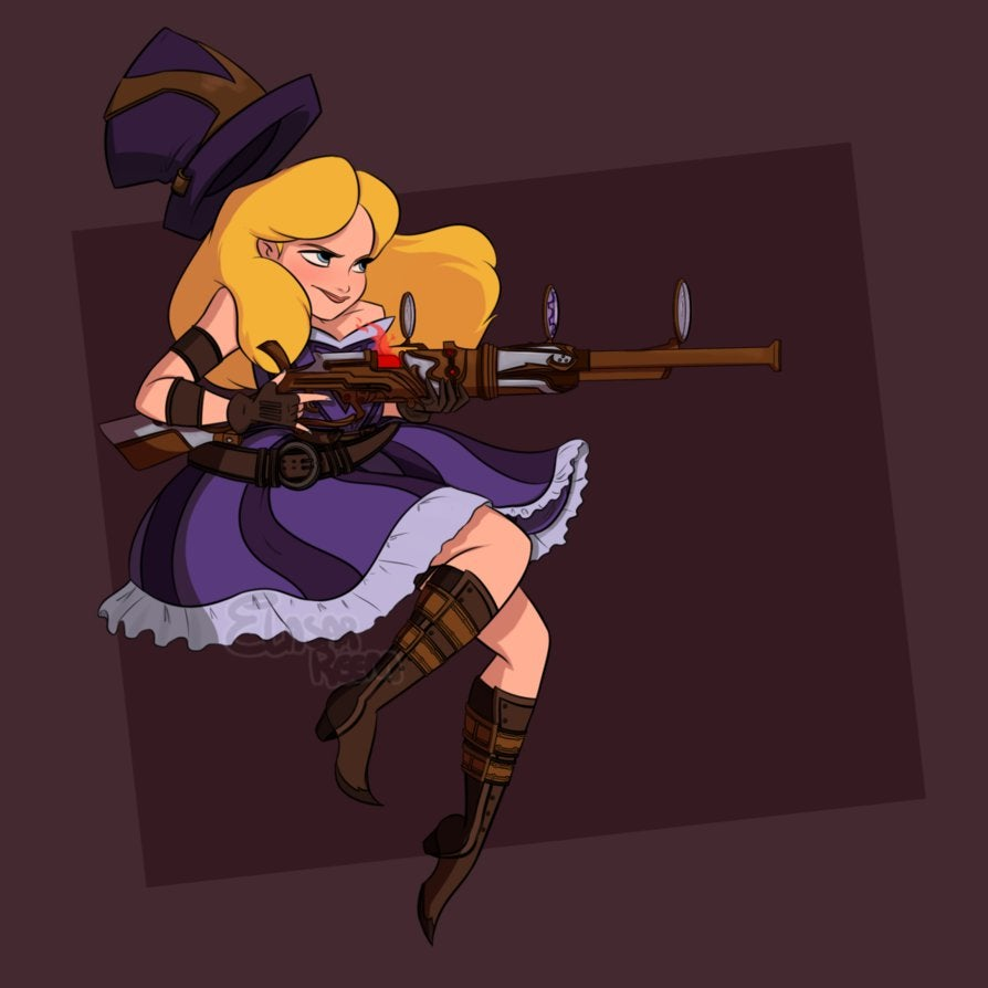 alice  the sheriff of piltover by dreemers-d8gsecn
