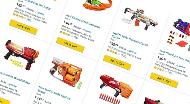 amazon-bogo-nerf-sale