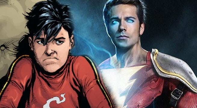 Asher Angel Shazam Cast Billy Batson