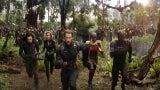 Avengers Infinity War Captain America Black Panther Hulk Black Widow War Machine