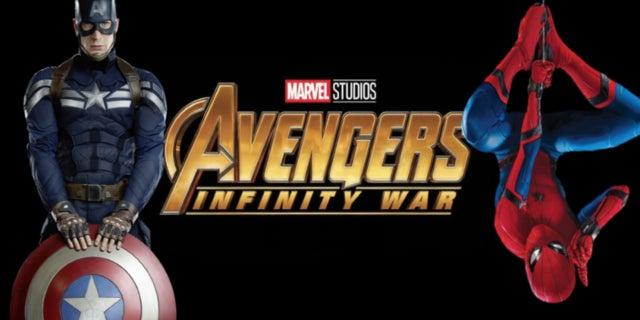 Avengers Infinity War Spider-Man Captain America comicbook.com