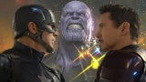 Avengers Infinity War Trailer - Captain America Civil War Reference
