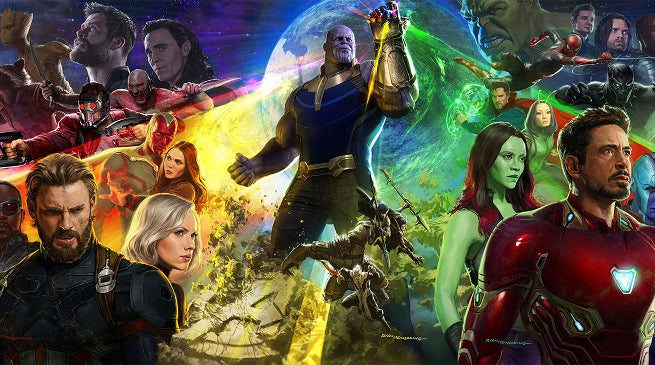 Avengers Inifnity War Photo Shoot Cast Reactions