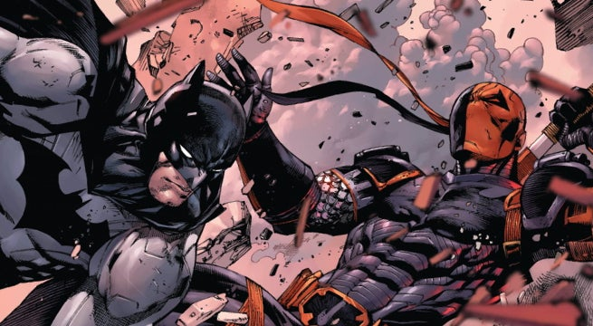 batman deathstroke gods of war