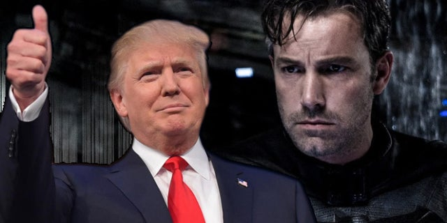 ben affleck batman trump