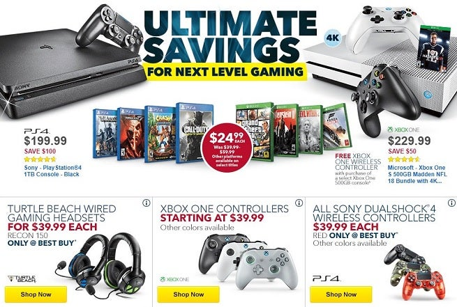 Nintendo Switch, PS4, Xbox One Game Deals In GameStop Summer Sale (US Only) Save money on a wide assortment of games.