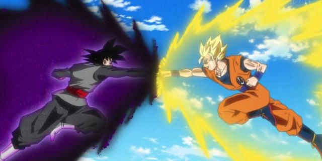 Black vs Goku