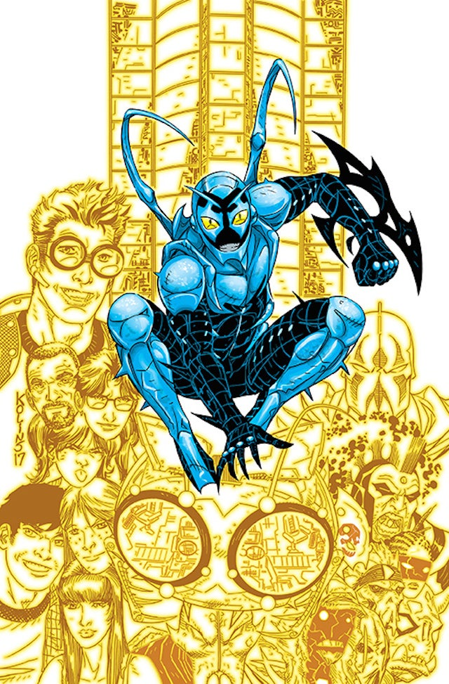 Blue Beetle rebirth #18 ile ilgili görsel sonucu