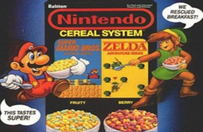Official Super Mario cereal is coming to the USA (with amiibo functionality)