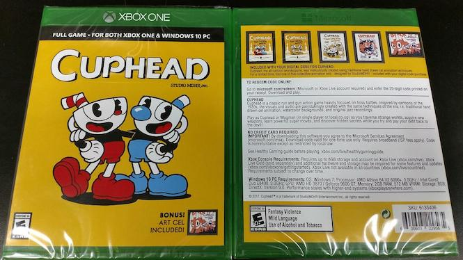 Cuphead For Xbox One Is Getting A Physical Release - But
