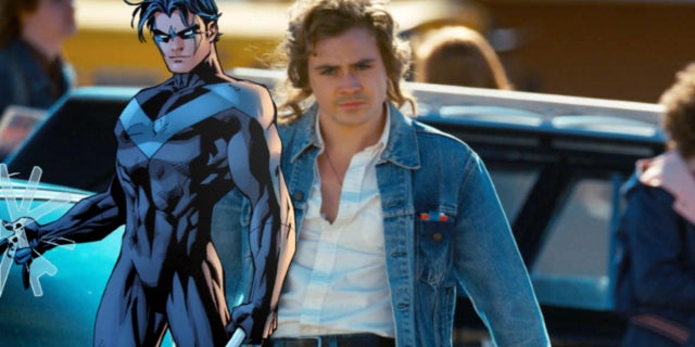 Dacre Montgomery Stranger Things 2 Nightwing