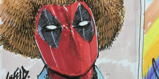 deadpool 2 rob liefeld