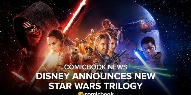 Disney Announces New Star Wars Trilogy screen capture