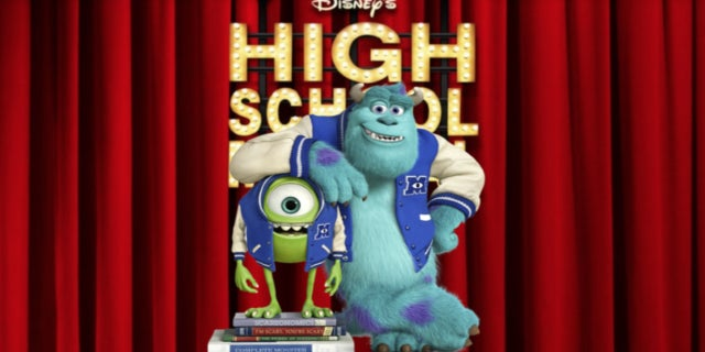 Disney Monsters Inc High School Musical comicbook.com