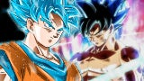 Dragon Ball Super Goku Super Saiyan Blue Ultra Instinct