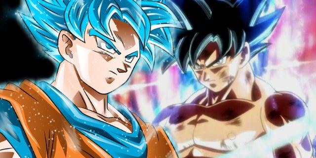 Dragon Ball Super Goku Super Saiyan Blue Ultra Instinct