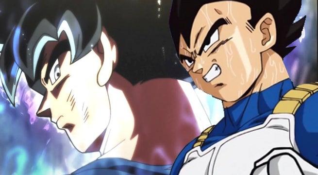 Dragon Ball Super Vegeta Ultra Instinct Offense