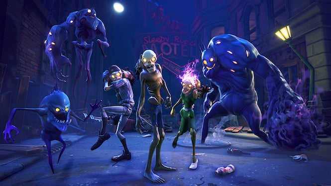 Fortnite's Latest Update Adds Xbox One X Support, Smoke