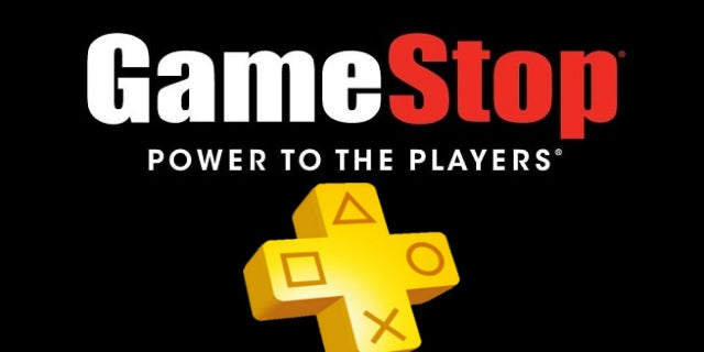 gamestop ps plus