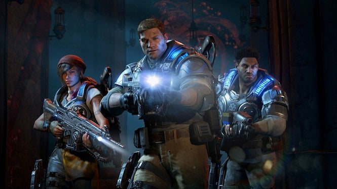 Gears of War 4 Added to Xbox Game Pass
