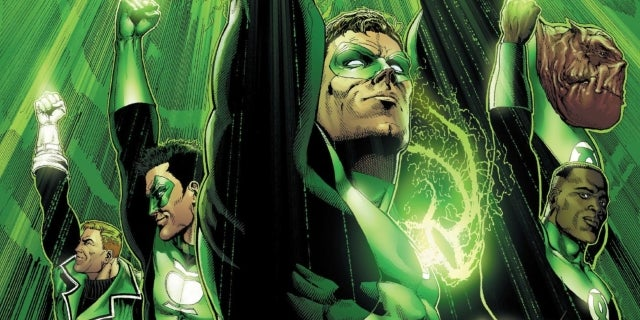 DC Cancels 'Hal Jordan and the Green Lantern Corps'