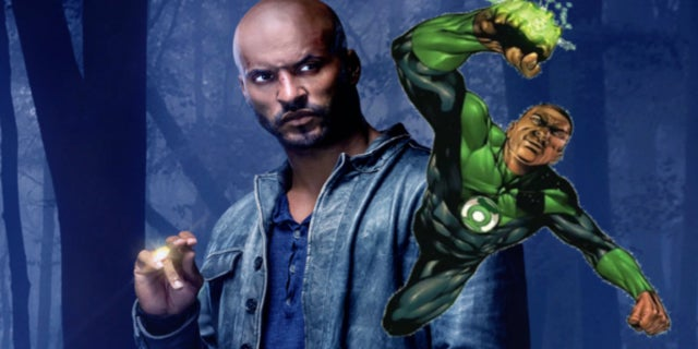 Green Lantern John Stewart Ricky Whittle comicbook.com