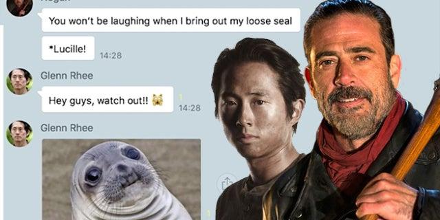 Group Chat Walking Dead
