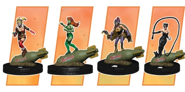 Halrye QUinn and the Gotham Girls HeroClix