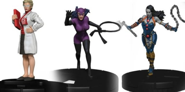 Harley Quinn and the Gotham GIrls HeroClix