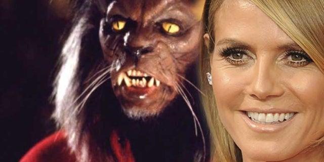 heidi klum thriller werewolf