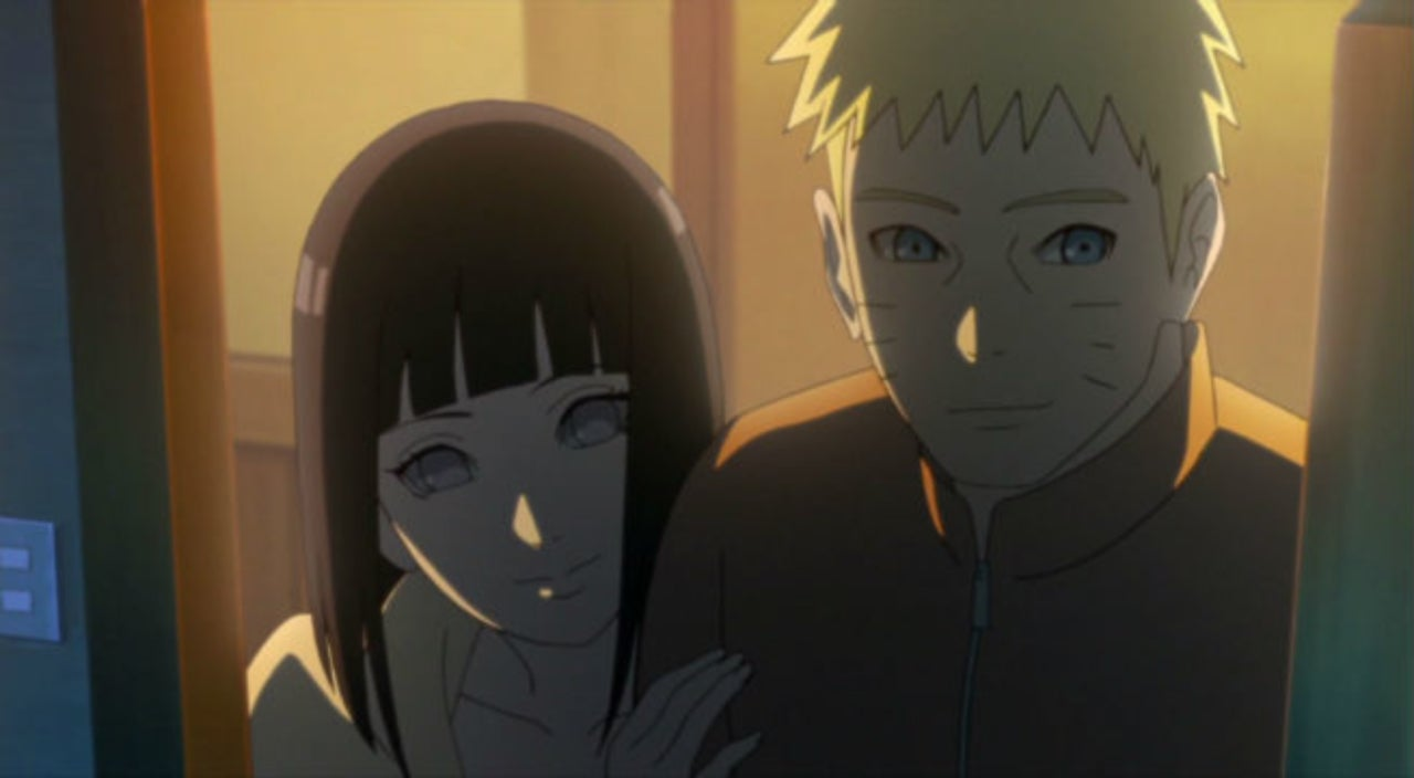 When does naruto start dating hinata