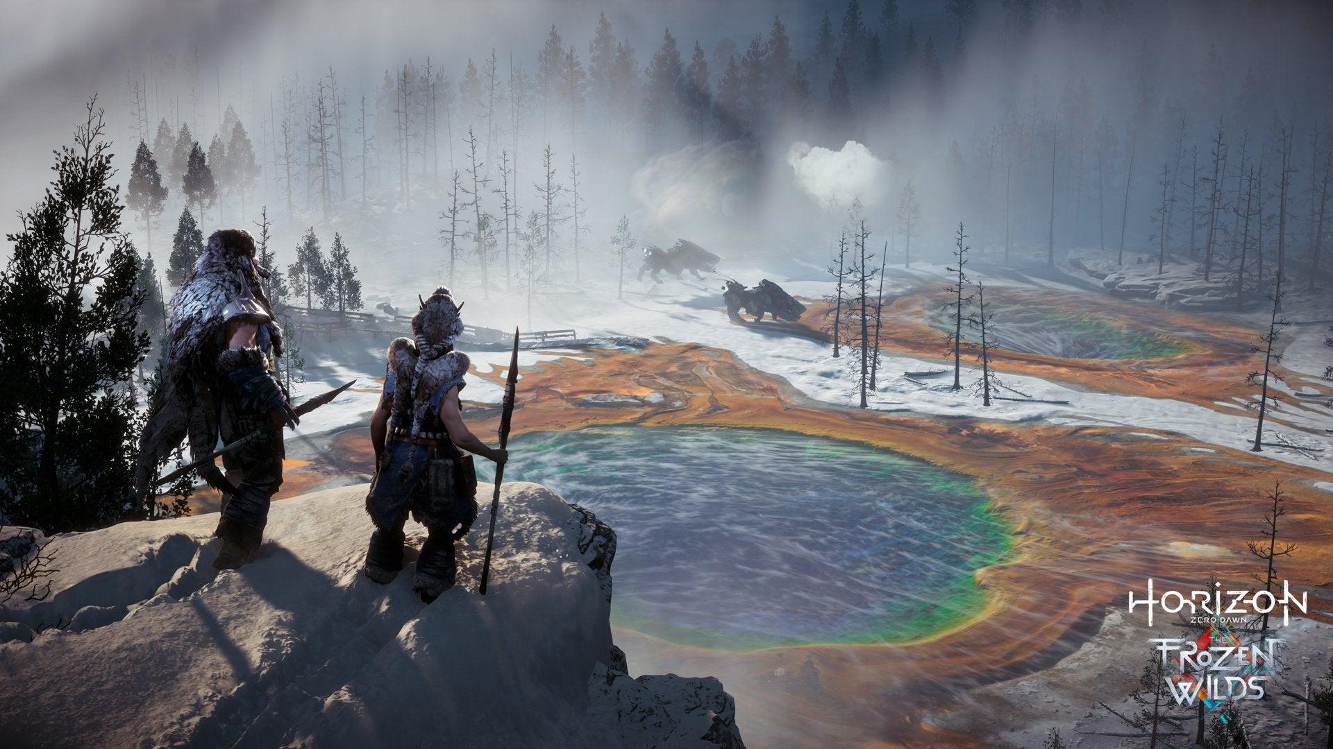 La nieve y el hielo son los elementos más comunes en esta nueva zona