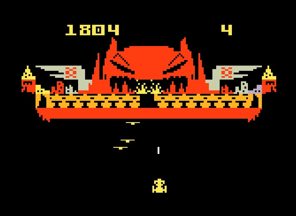 intellivision demon attack screen 4