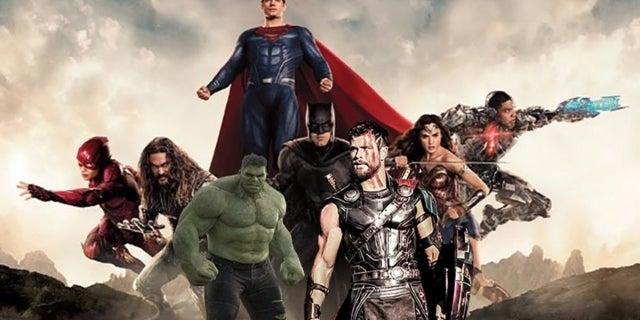 justice league dc marvel