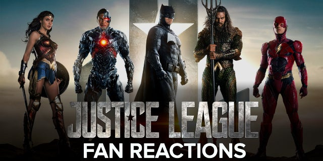 Justice League Fan Reactions screen capture