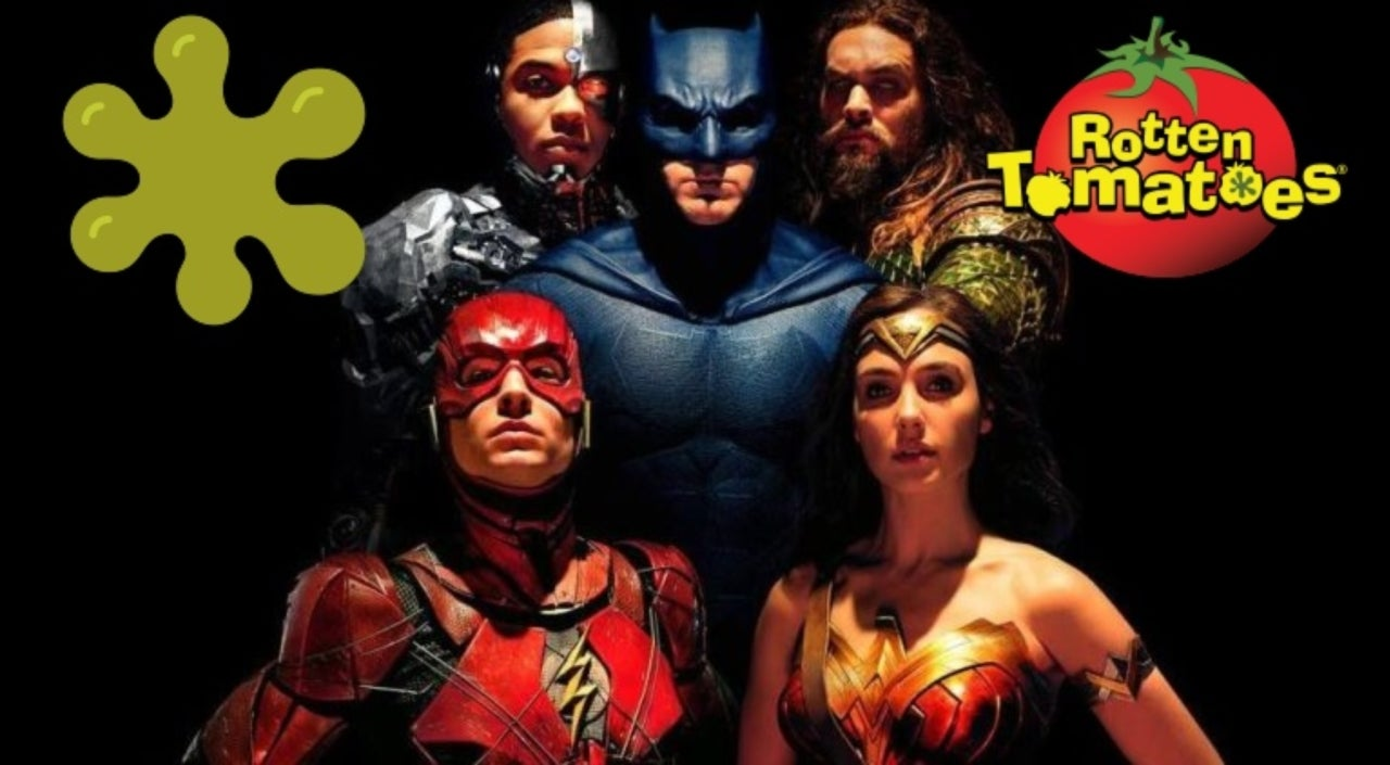 Image result for justice league rotten tomatoes