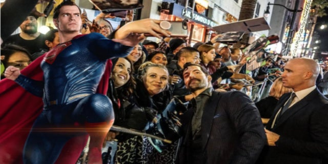Justice League Superman Henry Cavill fans