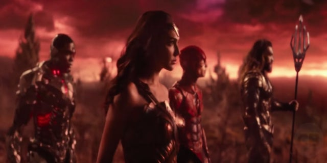 Justice League Wonder Woman Flash Aquaman Cyborg