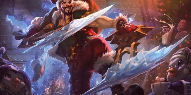 League of Legends Santa Draven