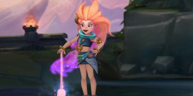 League of Legends Zoe