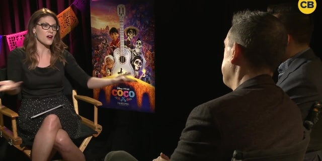 Lee Unkrich and Adrian Molina Talk Coco screen capture
