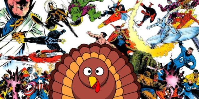 Marvel Macy's Thanksgiving Day Parade Float 1987