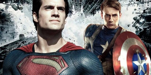 marvel vs dc superman captain america