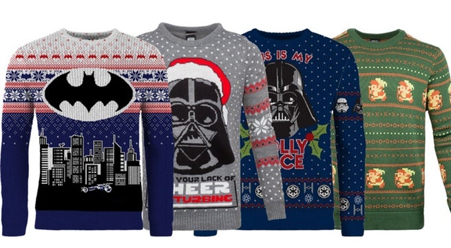 Batman Christmas Sweater.Exclusive Deal Save 40 On Star Wars Batman And Zelda