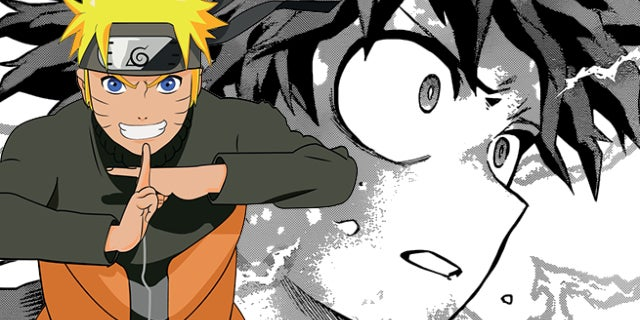 my hero naruto
