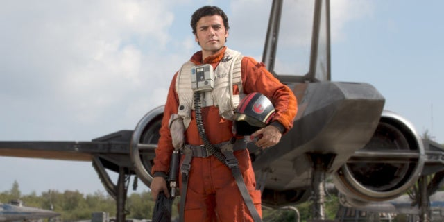poe dameron oscar isaac the force awakens pilot