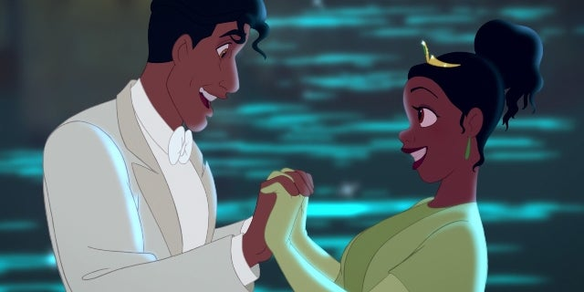 princess and the frog tiana naveen