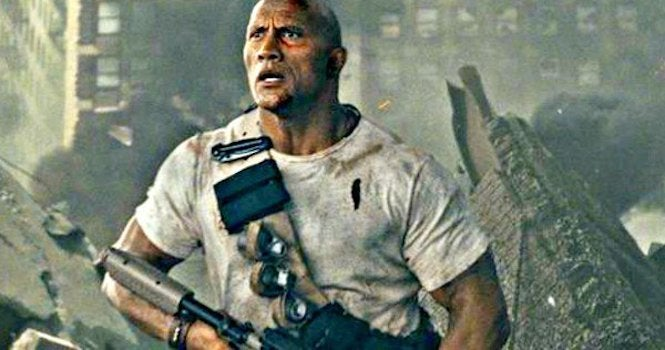 'Rampage': The Rock Reveals First Poster; Trailer Debuts Tomorrow