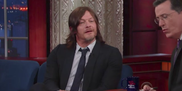 reedus late show