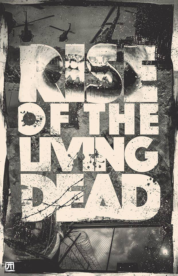 rise of the living dead movie poster